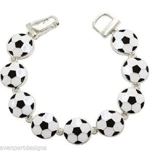 Jewelry - Soccer bracelet Magnetic Closure Mom Coach New